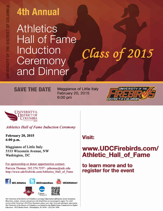 2014 Athletics Hall of Fame