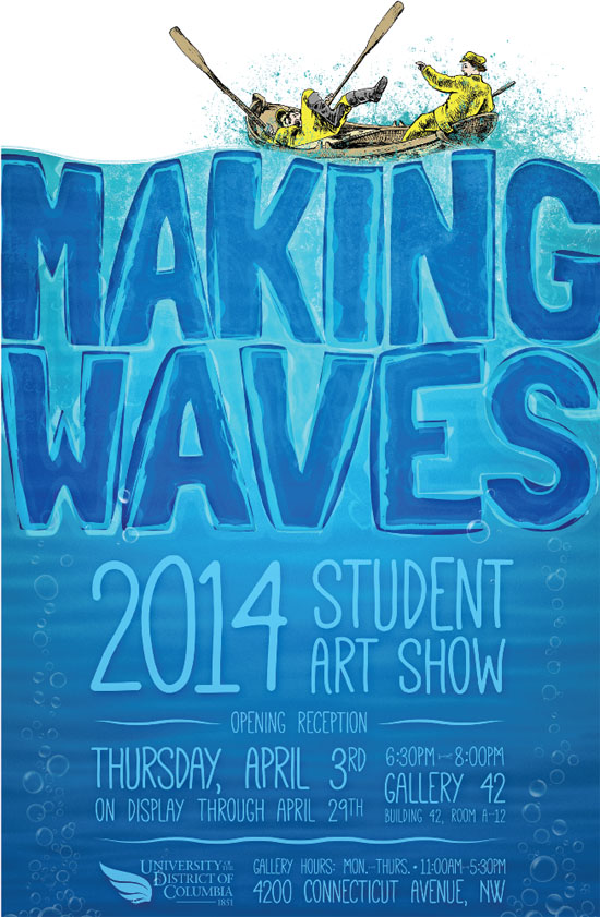 Making Waves 2014 Student Art Show