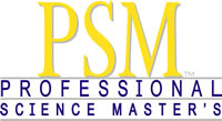 Professional Science Master's (PSM)
