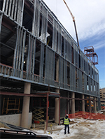 New Student Center Construction