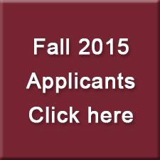 Fall 2015 Applicants