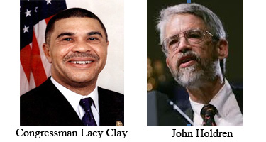 Congressman Lacy Clay & John Holdren