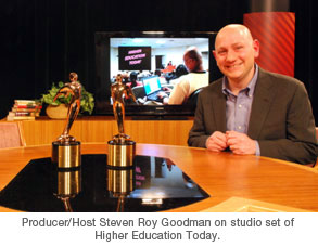 "Telly Award for ""Higher Education Today"""